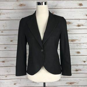 Theory Women's Brown Wool blazer size 6